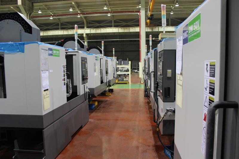 Производственный цех DMC (Южная Корея)